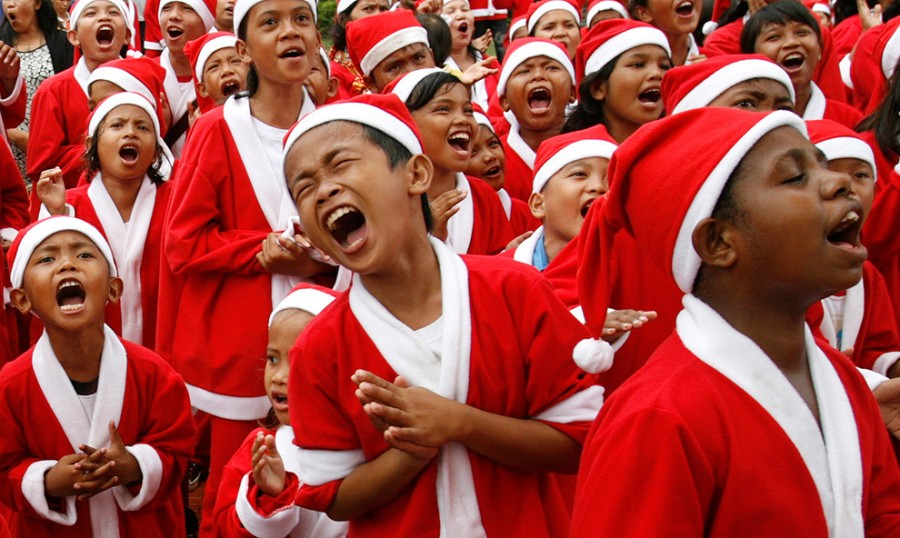 Christmass in Indonesia
