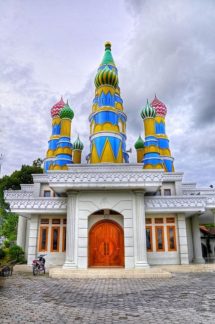 Saint Basil Church of Russia In Indonesia 2