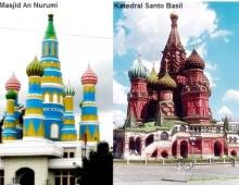 Saint Basil Church of Russia In Indonesia